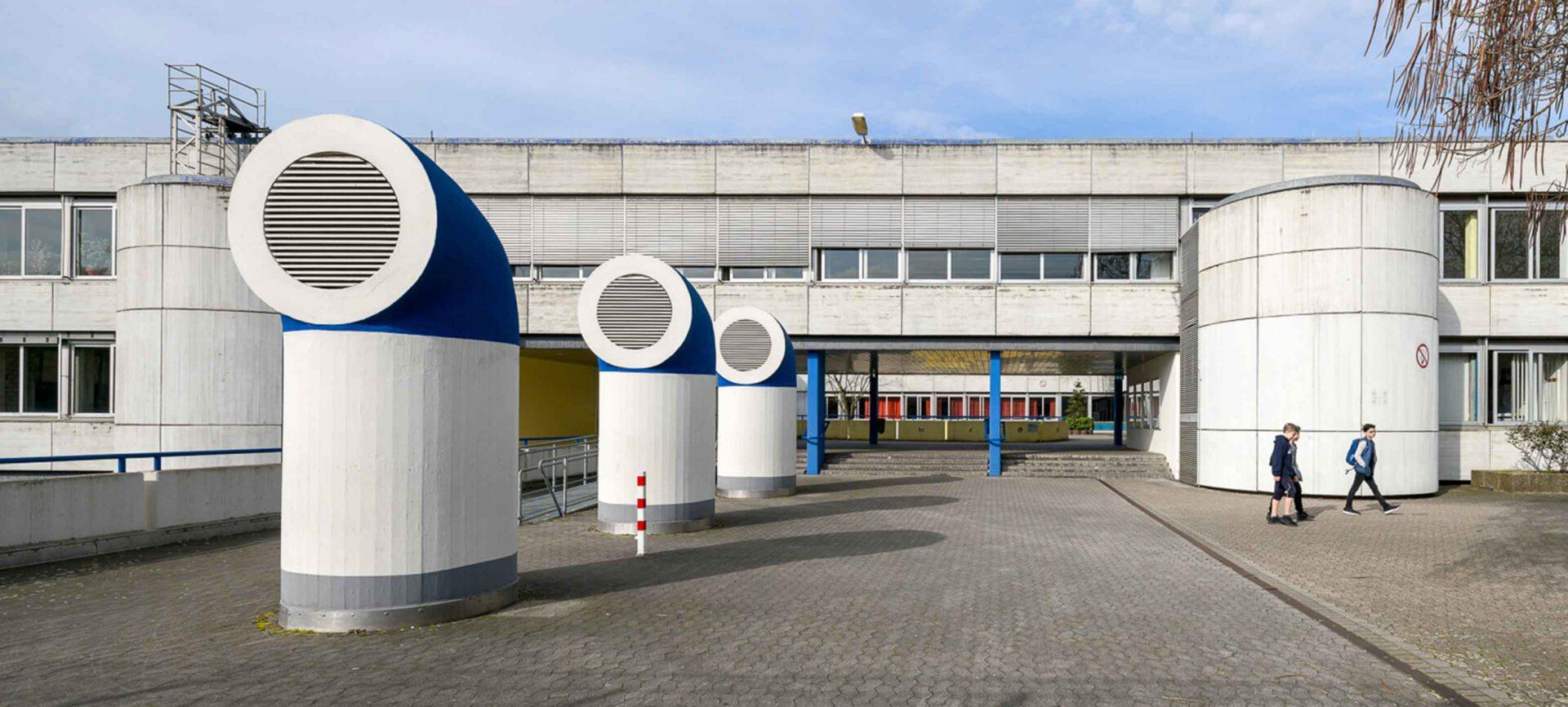 Kunst am Bau am Friederich-Rückert-Gymnasium