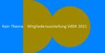 Mitgliederausstellung VdDK 2021