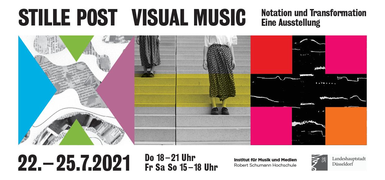 STILLE POST VISUAL MUSIC – Institut für Musik und Medien der Robert Schumann Hochschule Düsseldorf